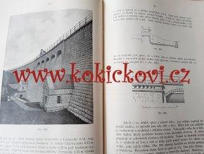 Stavba vodních nádrží 1+2 - František Stupecký 1909 + 1911