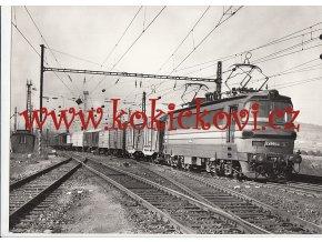 ELEKTRICKÁ LOKOMOTIVA S 499.0040 - REKLAMNÍ FOTOGRAFIE - A4