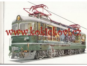 REKLAMNÍ KATALOG STROJEXPORT - ŠKODA - Elektrické lokomotivy 1964 - 44 STRAN A4