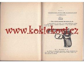 9 mm pistole vz. 82 - předpis - 1987 - výhradně pro služební potřebu
