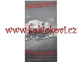Jawa 250, 350 pérák , Manet 90, ČZ 125 t - Mototechna - reklamní prospekt