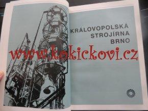 KRÁLOVOPOLSKÁ STROJÍRNA BRNO 1889-1989