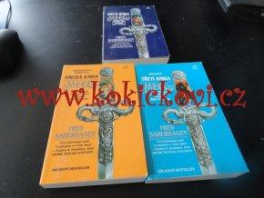 Kniha mečů (první, druhá a třetí) - set 3 knih - Fred Saberhagen