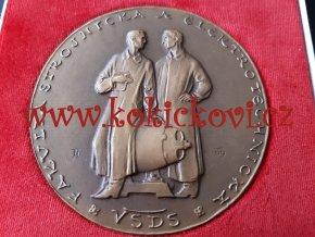 Medaile 1962 - Žilina, Vysoká škola dopravy a spojů - Rudolf Pribiš