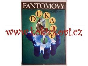 FANTOMOVY DUKÁTY - 1977 - filmový plakát - ALEXEJ JAROŠ