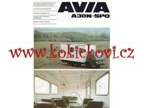 Avia A 30 N - SPO - skříňový přepravník osob - prospekt MOTOKOV