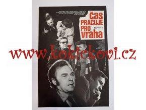 ČAS PRACUJE PRO VRAHA -1979 - filmový plakát