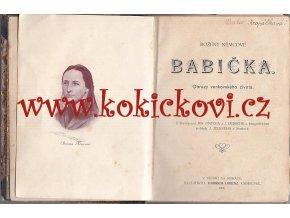 BABIČKA - Obrazy venkovského života - NĚMCOVÁ Božena - 1906