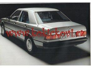 Mercedes - Benz - 190 / 190 E - 1983 - reklamní prospekt - 32 stran A4 - anglicky