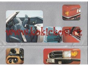 Mercedes - Benz 280 S/SE/SEL, 350 SE/SEL, 280 SL, 450 SL .... - přehled modelů - reklamní prospekt -