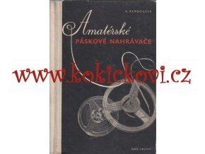 Amatérské páskové nahrávače - 1957