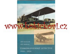 Československé letectvo 1918-1924, Rajlich/Sehnal, 1992