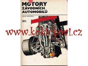 Motory závodních automobilů - Julius Mackerle - 1980 - Alfa Romeo, BMW, Bugatti, Ferrari, Jawa, Mercedes, Porsche