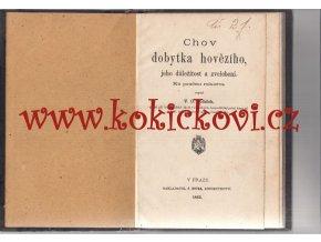 Chov dobytka hovězího, jeho důležitost a zvelebení ku poučení rolnictva - Poláček 1883