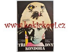 FILMOVÝ PLAKÁT A3 - TŘI DNY KONDORA - KAREL VACA - 1979