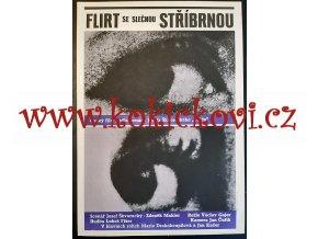 FILMOVÝ PLAKÁT A3 - FLIRT SE SLEČNOU STŘÍBRNOU -1968