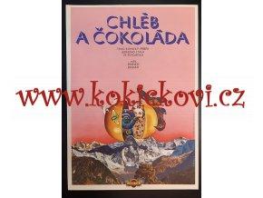 FILMOVÝ PLAKÁT A3 - CHLÉB A ČOKOLÁDA - 1975