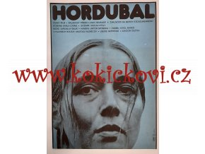FILMOVÝ PLAKÁT A3 - HORDUBAL - Libuše Geprtová