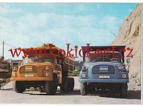 Tatra 148 - reklamní prospekt - 197? - 8 stran A4 - česky