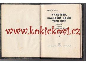 Hanussen, zázračný rabín Třetí říše