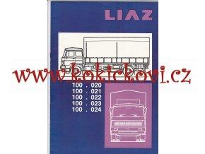 Valník LIAZ 100.020 - 024 - reklamní prospekt A4 - 16 stran