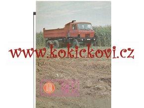 Tatra 815 S3 26 208 6x6.2 - reklamní prospekt A4 - 4 strany - česky