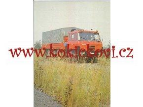 Tatra 815 VE 27 208 6x6.2 - valníkový automobil - reklamní prospekt A4 - 4 strany - česky