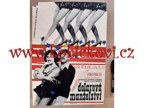 DOLAROVÁ MANŽELSTVÍ - FILMOVÝ PLAKÁT A3 - 1966 - USA