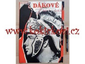 DÁKOVÉ - FILMOVÝ PLAKÁT A3 - 1967