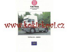 Tatra 815 - 260N51 - prospekt