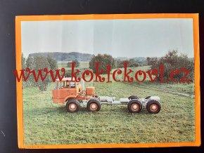 Tatra 813 PP 8*8 - REKLAMNÍ PLAKÁTEK (VĚTŠÍ A4) ROZMĚRY 23*32 CM