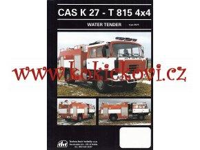 CAS K 27 - TATRA 815 4*4 - prospekt A4 - 1 list - 1997 - THT Polička