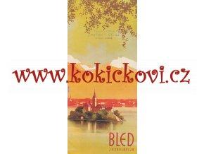 BLED JUGOSLAVIJA 1935 - GERMAN EDITION - ART DECO - PRŮVODCE