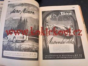 SVĚT MOTORŮ 1947 - 1. ROČNÍK - POUZE 16 ČÍSEL - NEKOMPLETNÍ VIZ POPISEK