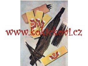 VIRŽINKY - reklamní tisk / plakát z 50. let - A4 - 1 volný list - vhodné k dekoraci