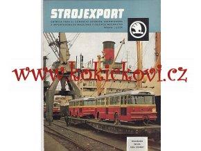 TROLEJBUS ŠKODA 9 Tr - reklamní prospekt Strojexport - A4 - 16 STRAN - ŠPANĚLSKY