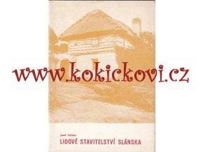 Lidové stavitelství Slánska - Josef Vařeka - 1976