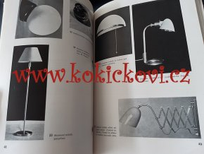 Osvětlovací technika obytných prostorů - 1947 - světla - lampy