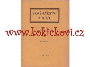 Brašnářství a kůže - Příručka pro brašnáře - 2. vydání - 1945 - A5- 30 stran