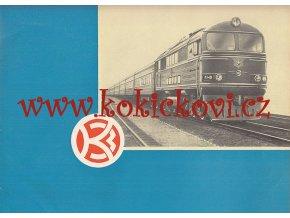 Kolomenský lokomotivní závod - 1863-1963 - reklamní  katalog lokomotiv SSSR