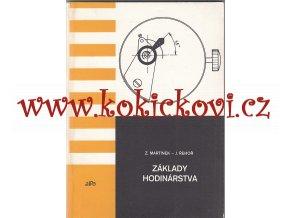 Základy hodinárstva - Úvod do hodinárskeho odboru - 1987 - náklad 200 ks -hodinářství
