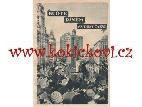 MOTOCYKLY BSA REKLAMNÍ LETÁK 1928 - BUĎTE PÁNEM SVÉHO ČASU