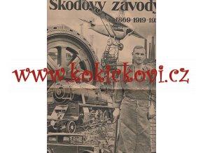 ŠKODOVY ZÁVODY 1869-1929 - REKLAMNÍ PUBLIKACE S HLUBOTISKOVOU PŘÍLOHOU - LUXUSNÍ STAV