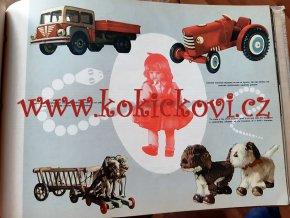 Československé družstevní hnutí - propagační publikace 1958 - A3 - hračky - šperky - látky - motocykly - cukrovinky - hodiny atd. EXPO 58