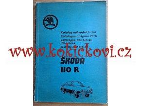 Škoda 110 R - KATALOG NÁHRADNÍCH DÍLŮ - 1974 - 1975 - SÉRIE 42-47