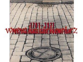 Pražská kanalizace a vodní toky 1791 - 1971