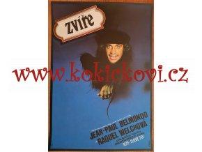 PLAKÁT A3 - FILM ZVÍŘE - BELMONDO - VLACH 1981 - NEPŘELOŽEN - IA STAV