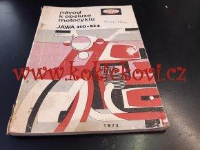 JAWA 350 Jawa 634 originál návod k obsluze - 1973 - A5 - 96 stran