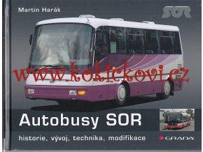 Autobusy SOR - Martin Harák - historie, vývoj, technika, modifikace