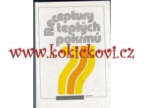 Receptury teplých pokrmů - 1991 - 575 str. Merkur